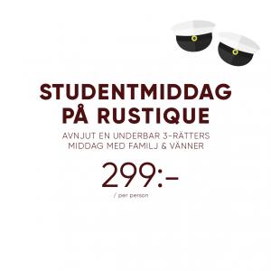 studentmiddag-Rustique